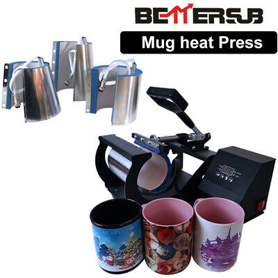 Cup Coffee 4 In 1 Combo Mug Press Machin Sublimation Mug Cup For 10-17oz Tumbler