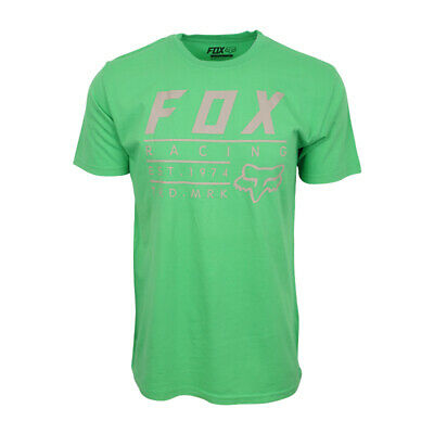 FOX RACING MENS ESTABLISHED T SHIRT SHAMROCK