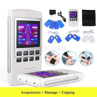 Electrotherapy Physiotherapy Pulse Massager Muscle Stimulator Lcd Rechargeable