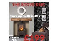 Stove wood burning multi fuel stoves new
