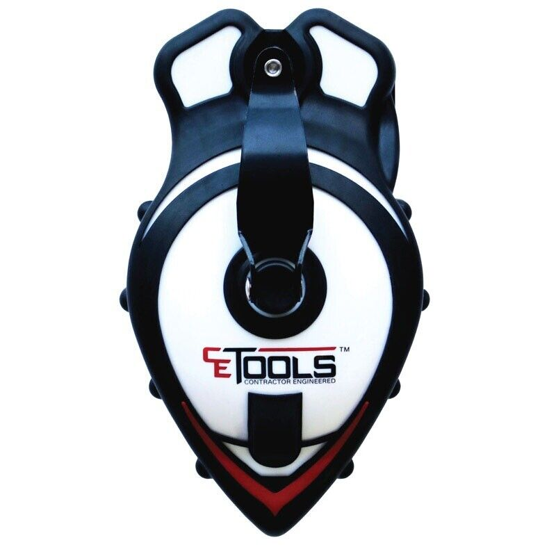CE Tools CET103 SnapBack Braided Chalk Line with Releasable Tip, 50