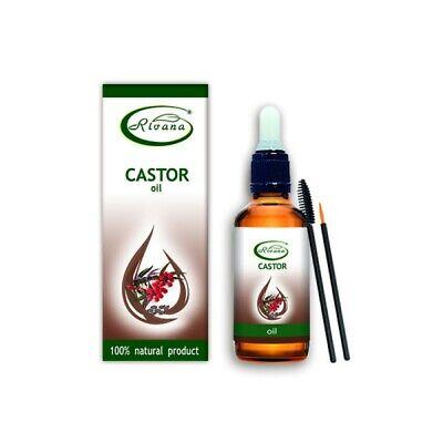 Rivana Aceite de Ricino -100% Producto Natural - Portador Aceites 30ML