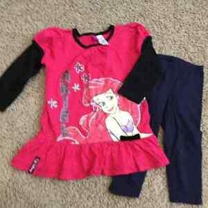 Disney Princess Ariel outfit - size 3T