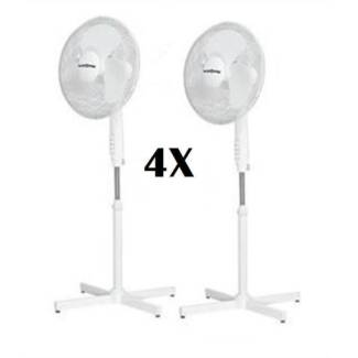 9x misc ac fans and 1x hair dryer, as pictured/listed,fr $10 each