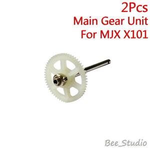 2Pcs Spare Repairing Parts Main Gear Unit for MJX X101 RC Drone Quadcopter