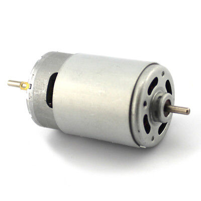 High Speed Dual Shaft 550 Motor 12v Miniature Dc Motor Diy Electric Drill Motor