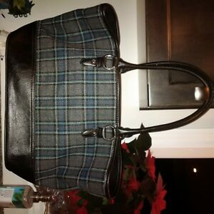 Bass Heritage Collection Plaid purse