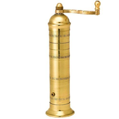 Brass Pepper mill #104 9″ Brass salt mill  #108 8″ Alexander (ATLAS)set of 2