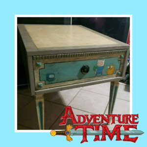 Adventure Time Bedside Table/Side Table/Nightstand