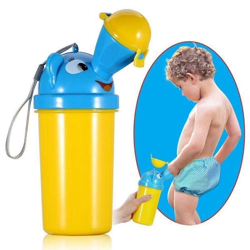1x Baby Boys Portable Urinal Travel Car Potty On the Go Trai
