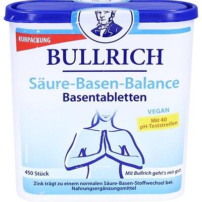 BULLRICH Säure Basen Balance Tabletten 450 st PZN11089888