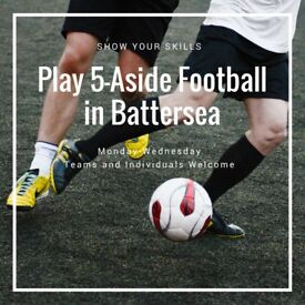 SPACES - Battersea 5-aside Football!