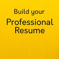 Build Your Professional Resume - Penticton