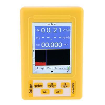 Br-9c 2in1 Digital Radiation Nuclear Radiation Detector Geiger Counter Emf Meter