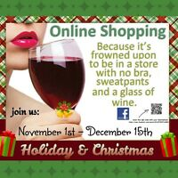 Holiday & Christmas ONLINE Shopping Event