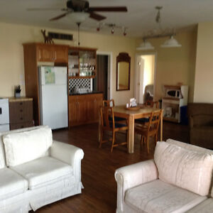 2 bedroom suite in country setting.