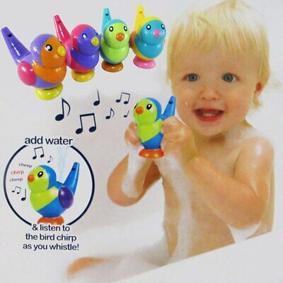 Water Whistle Baby Bath Toys Cute Musical Bird Kids Bathroom Toys Beach Strand