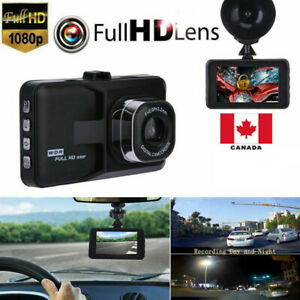"3"" LCD Car DVR Camera Video Recorder Dash Cam G-Sensor"