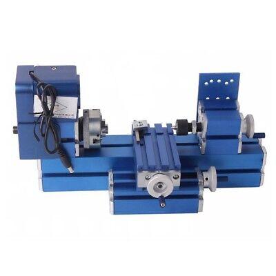 Diy Mini Metal Lathe Cnc Tool Woodworking Lathe Machine Teaching Model Making