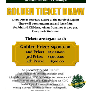 Golden Tickets Sweepstakes