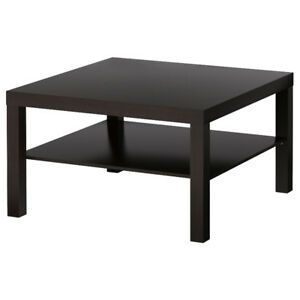 Ikea Lack Square Coffee Table / TV Stand, Excellent Condition!