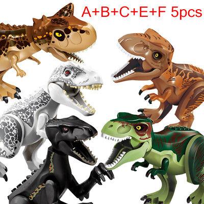 Dinosaur Rex Tyrannosaurus Jurassic World Park Mini Figures Toys With Lego New