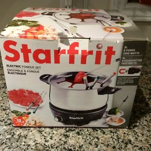 Starfrit Electric Fondue Set - New Kitchener / Waterloo Kitchener Area image 4