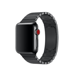 Black stainless Apple Watch Band 38mm