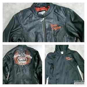 Harley Davidson Leather Jacket and Liner