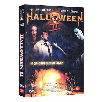 Halloween Ii 1981 (Halloween II (1981) DVD - Jamie Lee Curtis, Rick Rosenthal (*New *All)