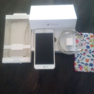 iphone 6 plus, 16 g, gold, unlocked, excellent condition