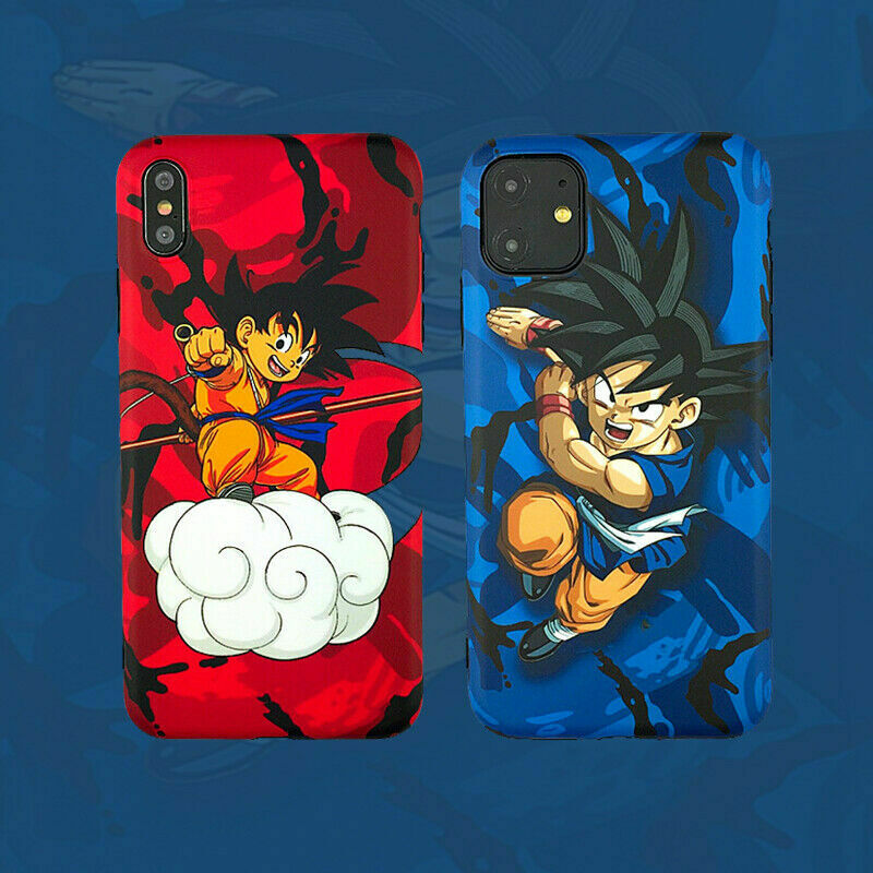Dragon Ball Z Goku Son Gokou Goten Case for iPhone X Xs Max XR iPhone 11 Pro Max Cases, Covers & Skins