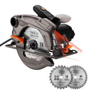 New 120v 7-1/4 Inch Circular Saw with Laser Guide