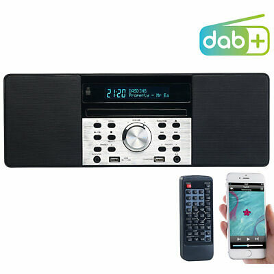 VR-Radio Digitalradio mit DAB+, FM, Bluetooth, CD, Audio-Player, USB-Port, 60 W