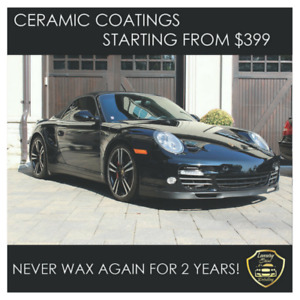 CERAMIC COATINGS FOR ONLY $399!