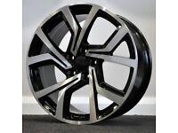 "18"" Clubsport Style Alloys & Tyres. Suit Audi A3,Volkswagen Caddy,Golf,Jetta, Passat,Seat Leon 5x112"