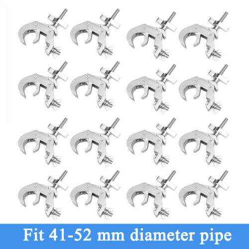 16Pcs Stage Lighting Clamps Lighting Mount Stage Light Hook Fit 1.57-2