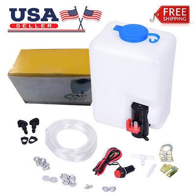 Universal Windshield Washer Pump Reservoir Kit 99300 Fluid Reservoir Tank - Washer Tank