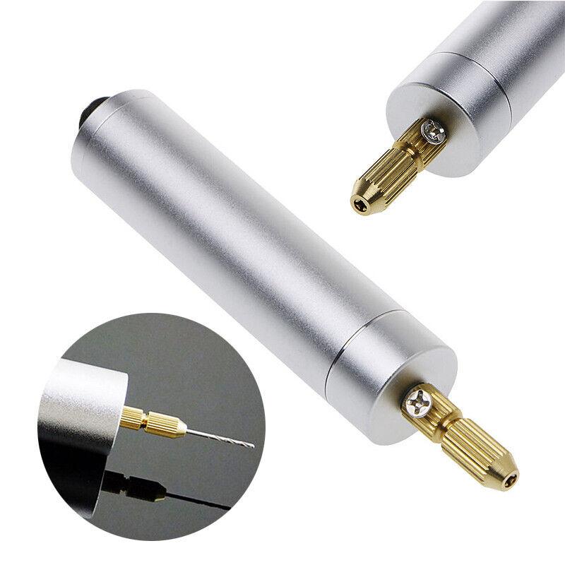 Elektrisch PCB Mini Drill Bohrmaschine Handbohrmaschine Handbohrer + Bohrfutter
