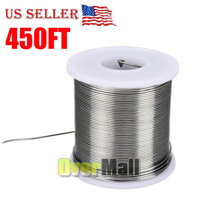 6040 Tin Lead Rosin Core Solder Wire Electrical Sn60 Pb40 Flux 0.0310.8mm 1lb
