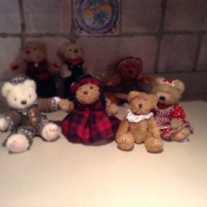 Vintage Minature Teddy Bears