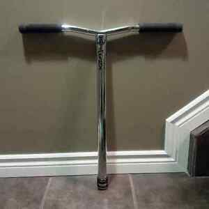 Oversized Chrome Apex Bol Scooter Bars