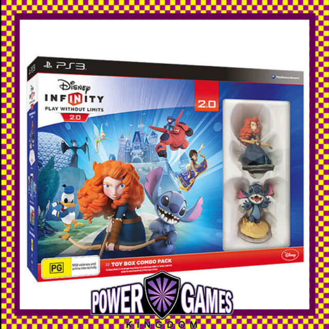 Disney INFINITY 2.0 Toy Box Starter Pack PS3 (Sony PlayStation 3) Brand New