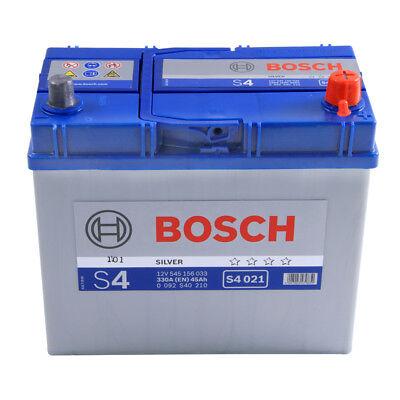 S4021 S4 158 Car Battery 4 Years Warranty 45Ah 330cca 12V Electrical By Bosch