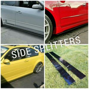 Universal Side Splitters