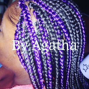 African hairdresser/ coiffeuse Africaine.