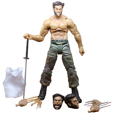 "7"" Marvel Legends Wolverine III Logan X-man Infinite Action Figure PVC Toy AU"