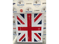 Husky HUS-HU230 - Distressed Union Jack Mini Fridge