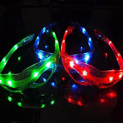 der Man Eyewear Halloween Ghost Festival Maske BrilleTPI (Led-licht Halloween-kostüm)