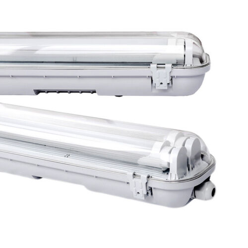 9W-24W LED Feuchtraumleuchte Wannenleuchte LED Röhre Leuchtstoff lamp IP65